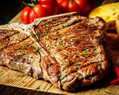 Tibone bovino ao forno